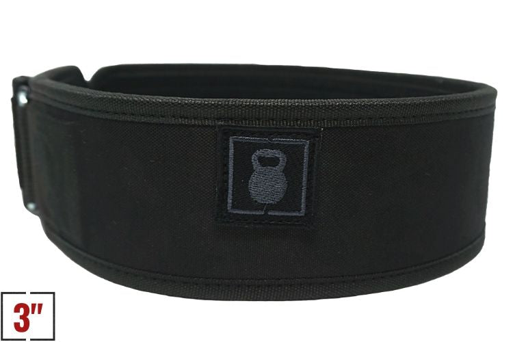 "3"" Petite Operator Straight Weightlifting Belt - 2POOD"