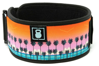 Tropical Paradise Straight Weightlifting Belt