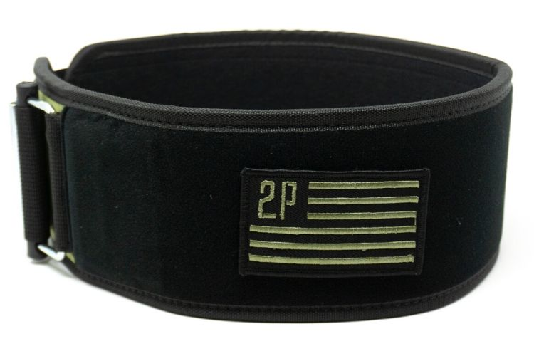 Velcro Patch Straight Weightlifting Belt