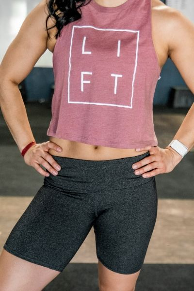 LIFT Collection Mauve Muscle Tank - 2POOD