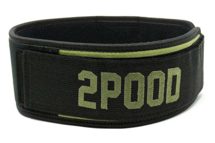 Velcro Patch Straight Weightlifting Belt - 2POOD