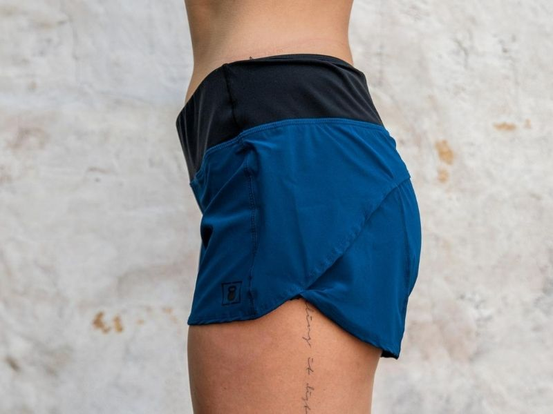 Blue Track Shorts - 2POOD