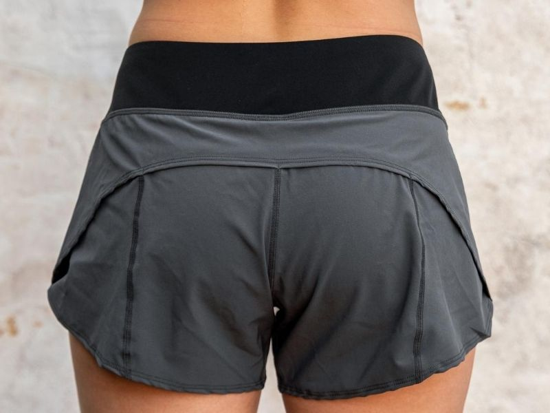 Grey Track Shorts - 2POOD