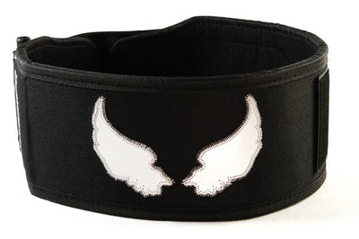 """ANGEL WINGS"" by Mattie Rogers Straight Weightlifting Belt"