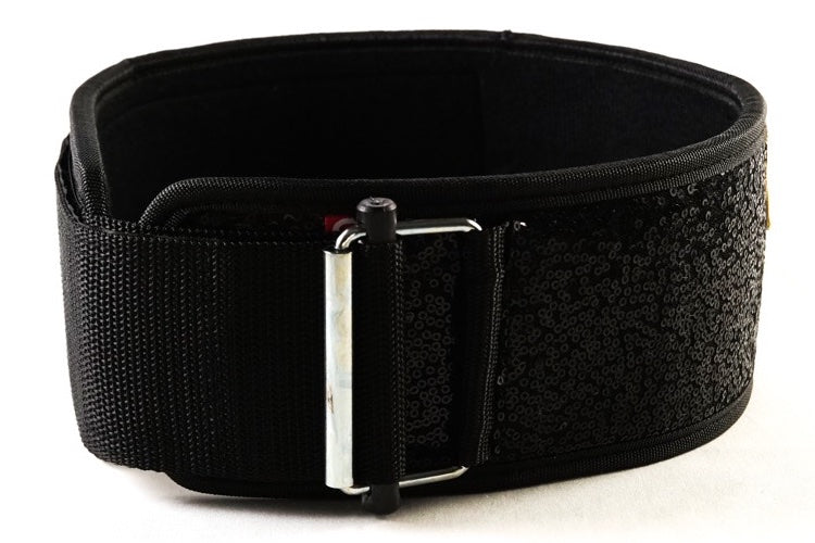 Black Magic Straight belt (sparkle) (w/ WODclamp®)