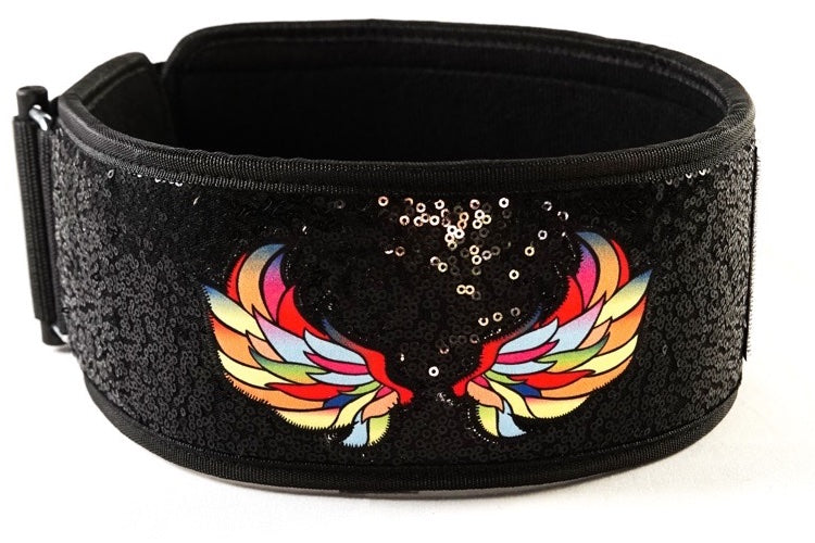 """KALEIDOSCOPE"" by Mattie Rogers Straight Weightlifting Belt"