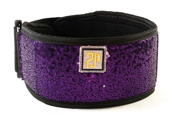 Purple Rain Straight Belt  (sparkle)