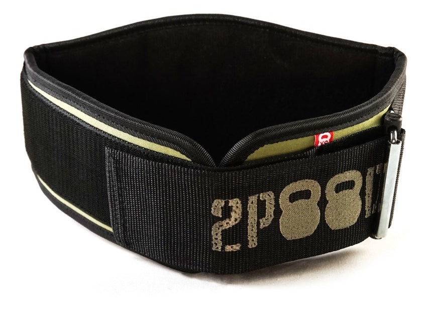 Velcro Patch Metcon Training Belt (w/ WODclamp®) - 2POOD