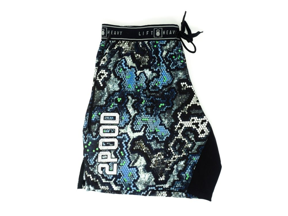 HexCam Kenai v.3.5S Shorty WOD Shorts