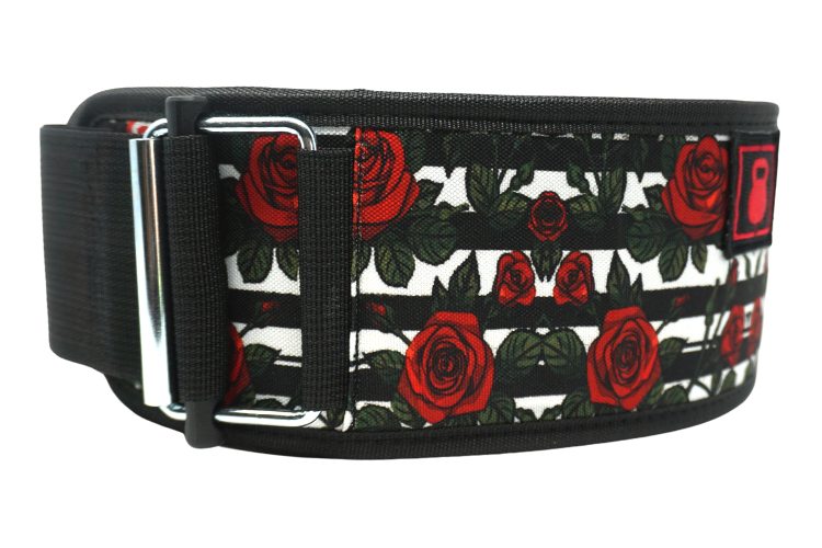 Roses by Tasia Percevecz Straight Weightlifting Belt - 2POOD