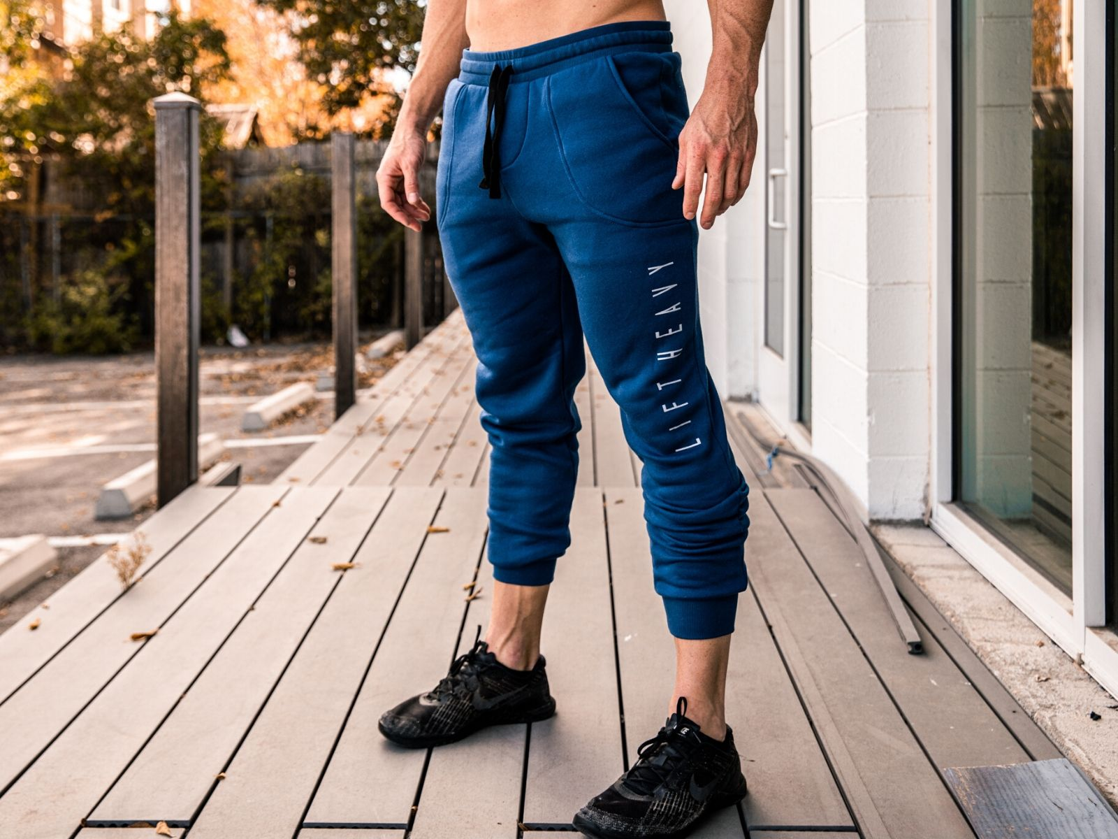 LIFT Edition Power Blue Joggers - 2POOD