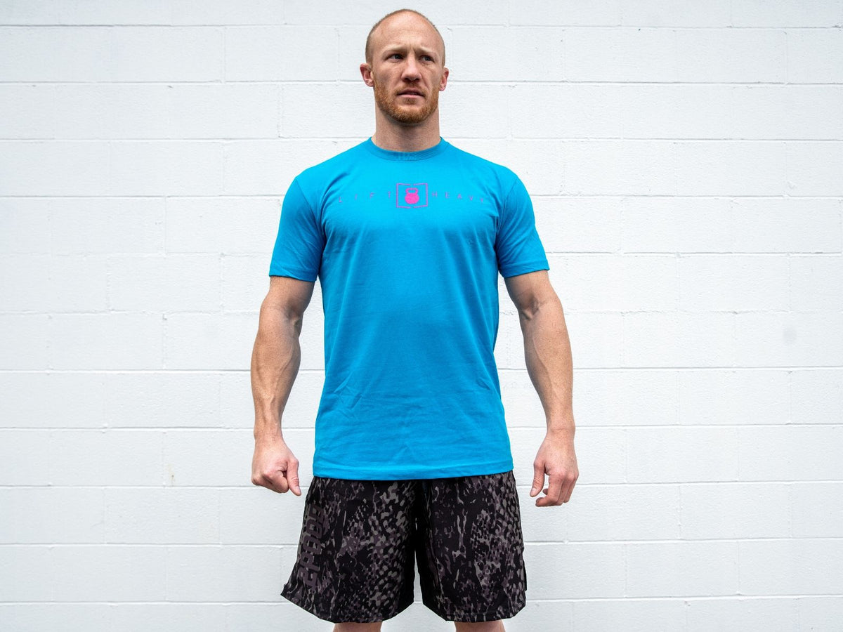 Turquoise Lift Heavy T-shirt
