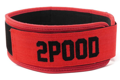 Red Kilo Straight Weightlifting Belt