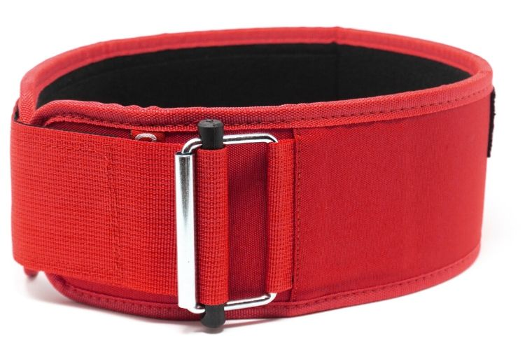 Red Kilo Straight Weightlifting Belt - 2POOD