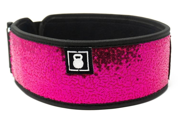Bombshell (sparkle) Straight Weightlifting Belt - 2POOD