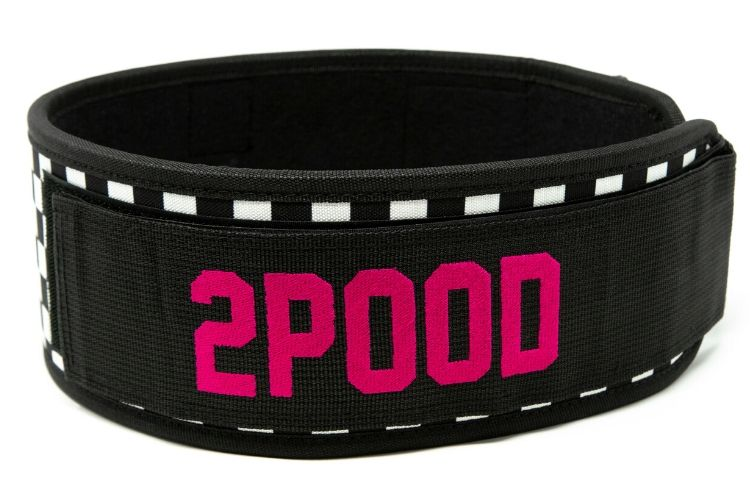 West Coast Vibes by Chyna Cho Straight Weightlifting Belt - 2POOD