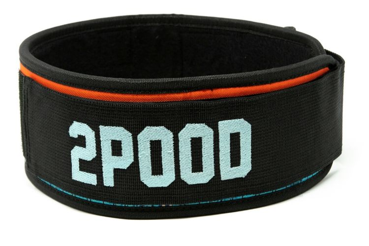 Tropical Paradise Straight Weightlifting Belt - 2POOD