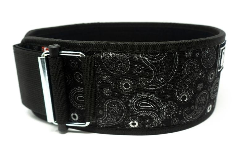 Caffeine & Kilos Paisley Straight Weightlifting Belt - 2POOD