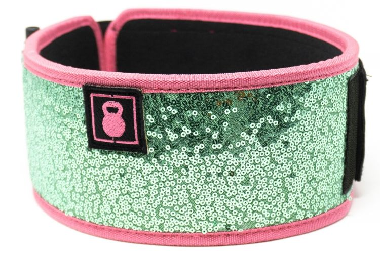 Sweet Tart (Sparkle) Straight Weightlifting Belt - 2POOD