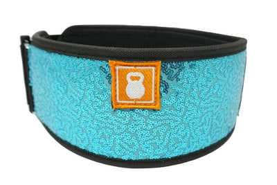 Mermaid (sparkle) Straight Weightlifting Belt