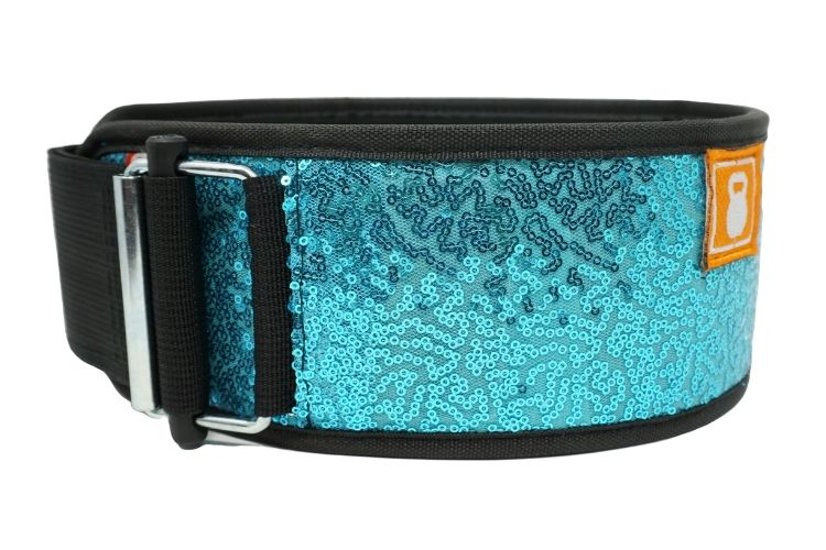 Mermaid (sparkle) Straight Weightlifting Belt - 2POOD