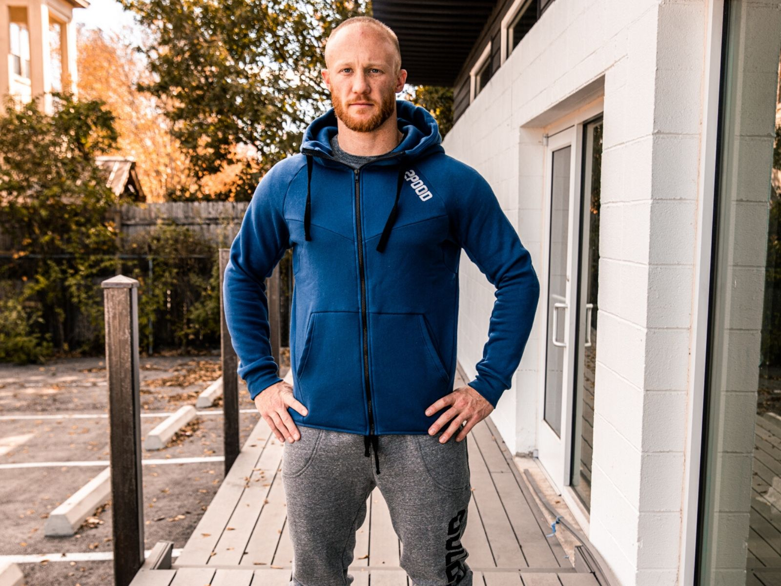 LIFT Edition Power Blue Hoody - 2POOD