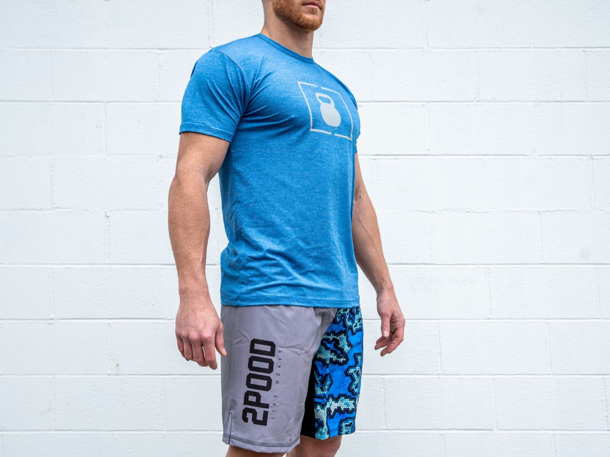 Cool Blue Lift Performance Fitted T-shirt