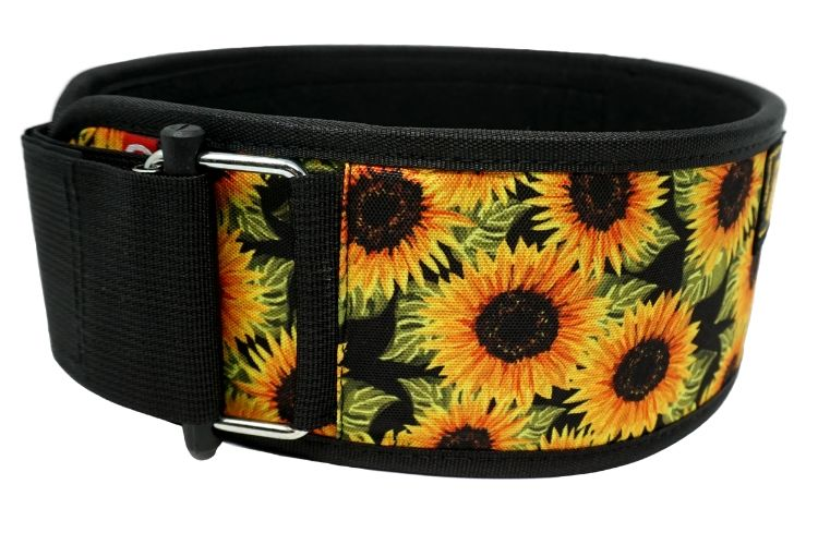 Sunflowers by Tasia Percevecz Straight Weightlifting Belt - 2POOD