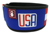 USA 2020 by CJ Cummings Straight Weightlifting Belt