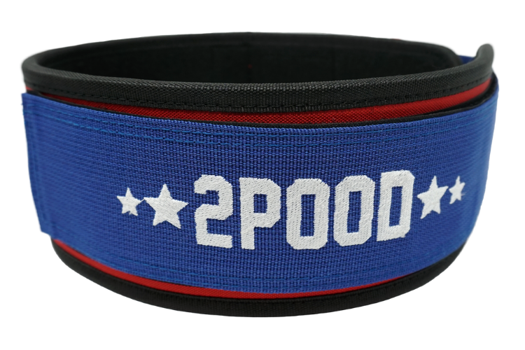 USA 2020 by CJ Cummings Straight Weightlifting Belt - 2POOD