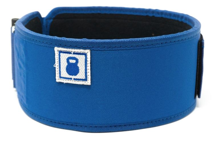 Blue Kilo Straight Weightlifting Belt - 2POOD