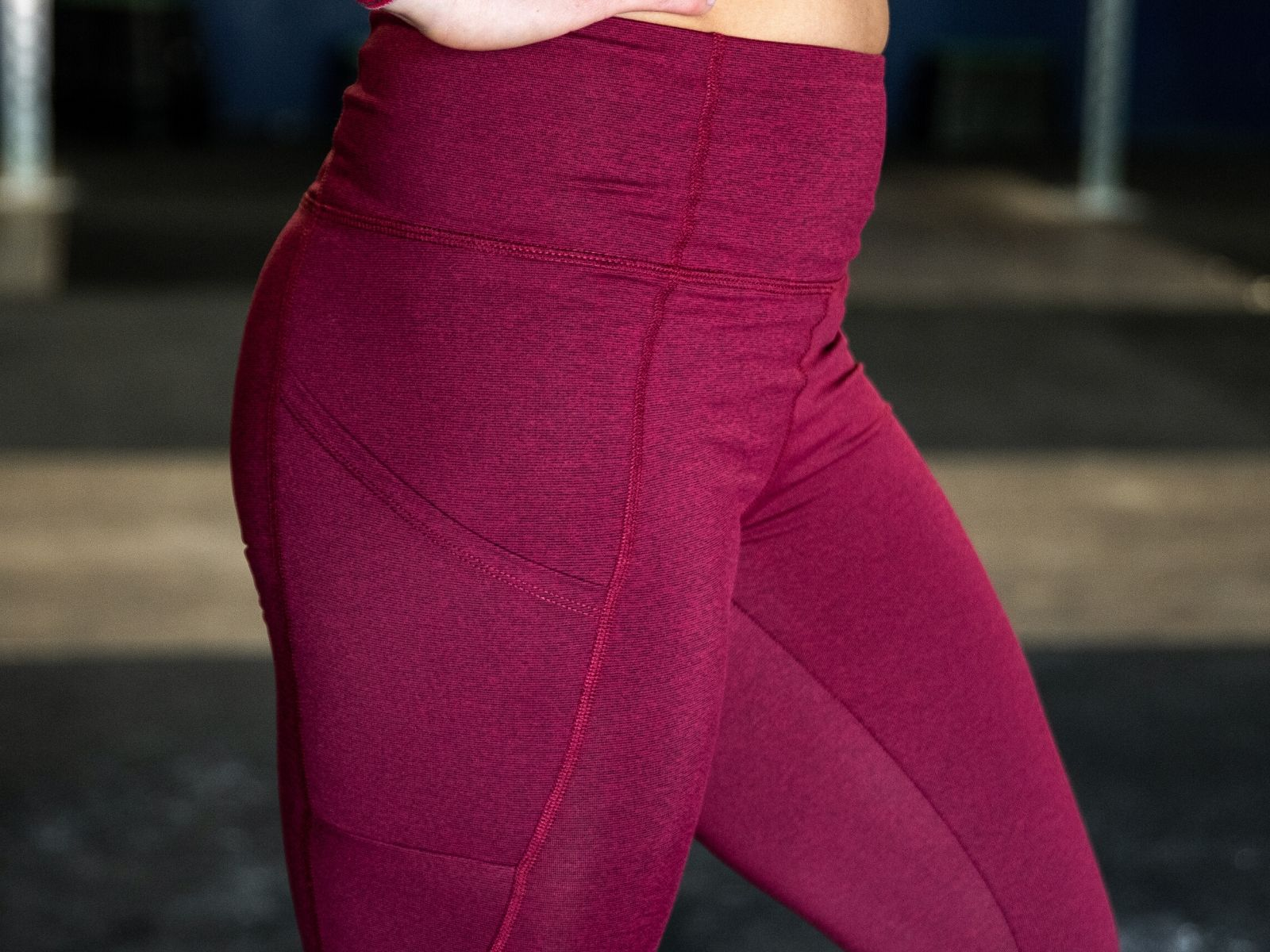 "Lift and Lounge Wine Leggings 28"" - 2POOD"