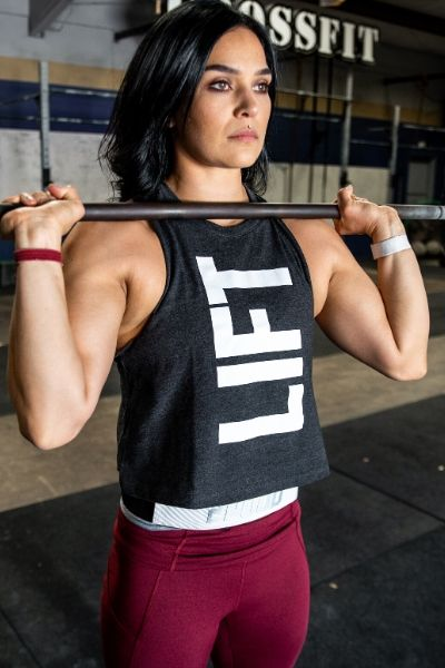 LIFT Collection Dark Grey Muscle Tank