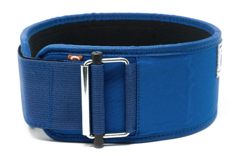 Blue Kilo Straight Weightlifting Belt