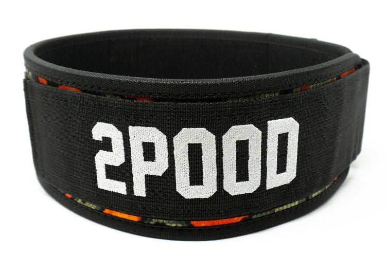 HexCam Adirondack Straight Weightlifting Belt - 2POOD