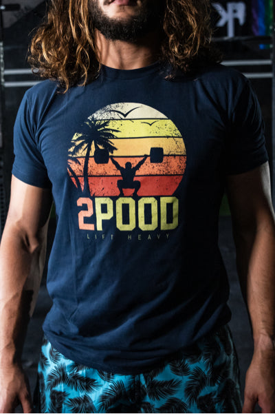 Summer Sunset T-Shirt - 2POOD