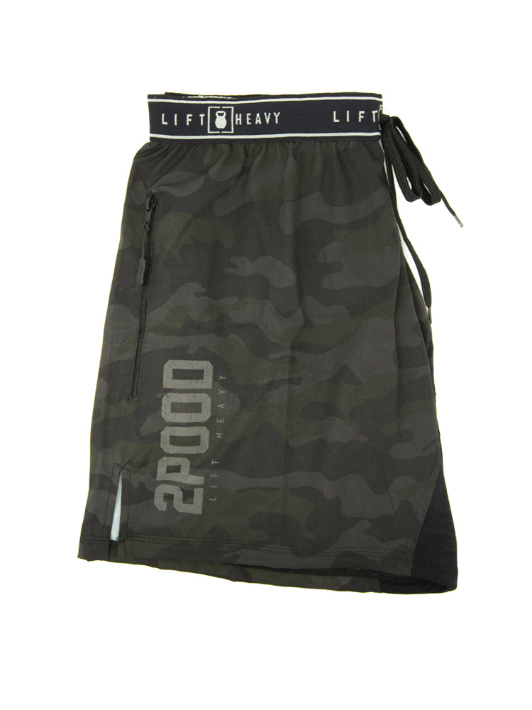 Operator (Black Multicam) v.3.5S Shorty WOD Shorts - 2POOD
