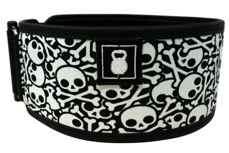 Skullz Straight Weightlifting Belt - 2POOD