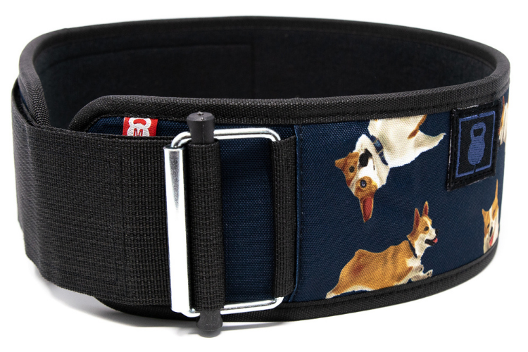 Winston the Corgi 2.0 Straight Weightlifting Belt - 2POOD
