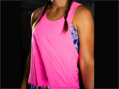 Hot Pink Flyweight Tank
