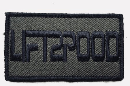 LIFT2POOD velcro patch