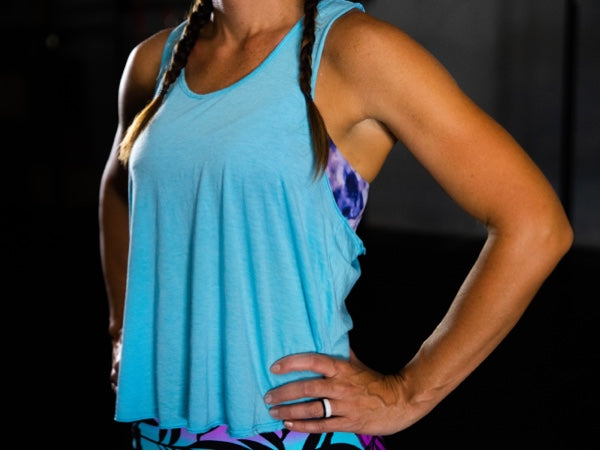 Seaside Blue Flyweight Tank - 2POOD