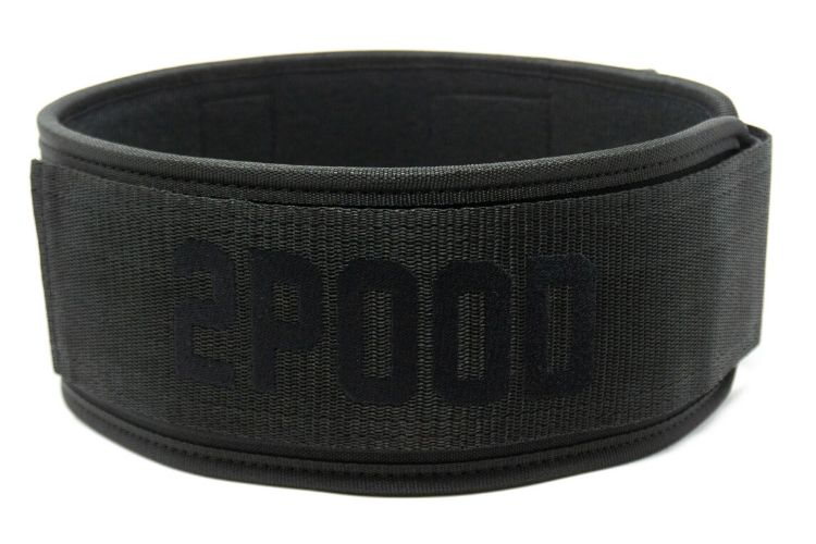 Snake Eyes Straight Weightlifting Belt - 2POOD