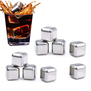 SUS 304 Stainless Steel Iceable Cubes