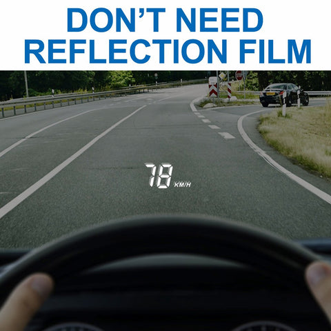 Car HUD Head Up Display-No need reflection film