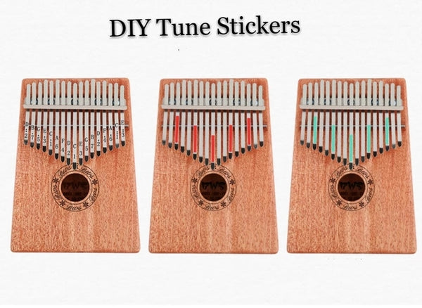 Gorgeous 17 Keys Kalimba(Gifts-set)