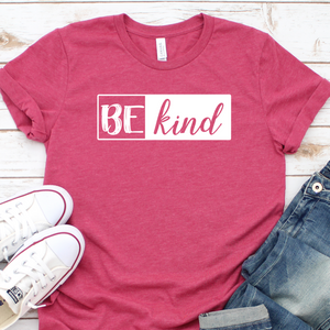 {Be Kind} Soft Crew Neck Tee