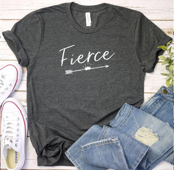 {Fierce} Soft Crew Neck Tee