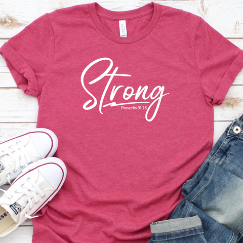 {Strong} Soft Crew Neck Tee