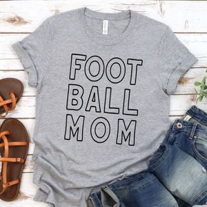 {FOOTBALL MOM} Soft Style Tee
